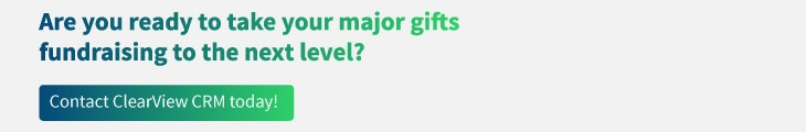 major gifts call today